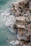 Costa de mar muerta Fotografía de archivo libre de regalías