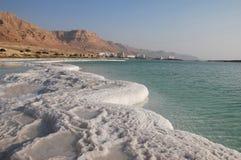 Costa de mar muerta Imagen de archivo