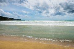 Costa de mar tropical fotos de stock