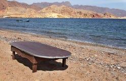 Costa de Mar Vermelho Egito, Nuweiba Fotografia de Stock Royalty Free
