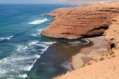 Costa de Marruecos Atlántico Fotografía de archivo libre de regalías