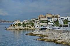 Costa de Marsella, Francia Foto de archivo libre de regalías
