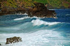 Costa de Maui, Hawaii Fotografía de archivo libre de regalías