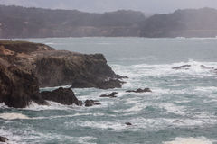 A costa de Mendocino Imagens de Stock