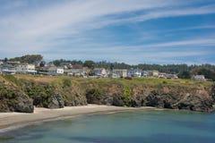 A costa de Mendocino, Califórnia Imagem de Stock Royalty Free