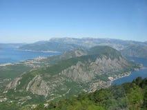 Costa de Montenegro Foto de Stock Royalty Free