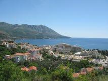 Costa de Montenegro Fotografia de Stock