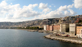 Costa de Nápoles Imagens de Stock