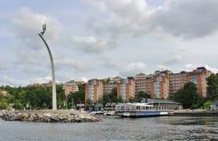 Costa de Nacka Imagem de Stock Royalty Free