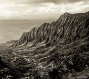 Costa de Napali Foto de archivo libre de regalías