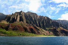 Costa de Napali Imagem de Stock Royalty Free
