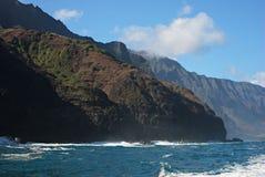 Costa de NaPali de Kauai Fotos de archivo libres de regalías