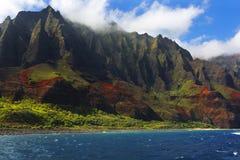 Costa de Napali, Kauai, Hawaii Fotografía de archivo