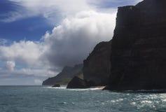 Costa de Napali, Kauai, Hawaii Fotos de archivo libres de regalías