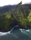 Costa de Napali, Kauai, Hawaii Fotos de archivo