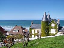 Costa de Normandía Fotos de archivo libres de regalías