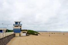 Costa de Normandía fotografía de archivo libre de regalías