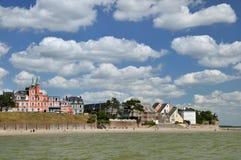 Costa de Normandía imágenes de archivo libres de regalías