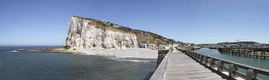 Costa de Normandy Imagens de Stock