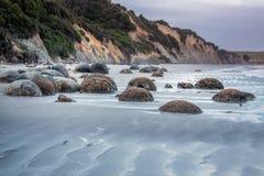 Costa de Nova Zelândia Foto de Stock