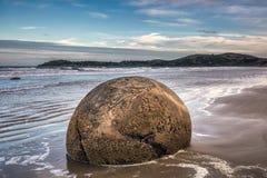 Costa de Nueva Zelanda Fotos de archivo