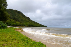 Costa de Oahu imagenes de archivo