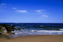 Costa de Oceano Atlântico Imagem de Stock Royalty Free