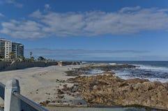 Costa de Oceano Atlântico por Cape Town Fotos de Stock