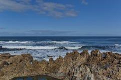 Costa de Oceano Atlântico por Cape Town Foto de Stock Royalty Free