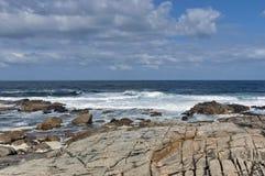 Costa de Oceano Atlântico por Cape Town Imagem de Stock