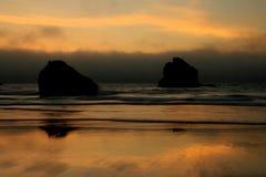 Costa de Oregon Foto de archivo libre de regalías
