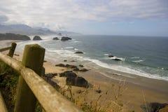 Costa de Oregon Foto de archivo