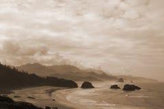 Costa de Oregon Fotos de archivo libres de regalías