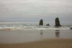A costa de Oregon Imagens de Stock Royalty Free