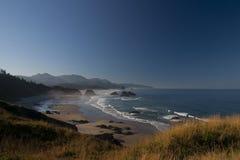 Costa de Oregon fotos de stock