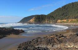 A costa de Oregon foto de stock