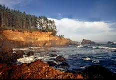Costa de Oregon - bahía de la caldera Imagenes de archivo
