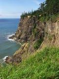 Costa de Oregon - cabo Meares Fotos de Stock Royalty Free