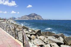 Costa costa de Palermo Imagen de archivo