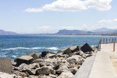 Costa costa de Palermo Fotografía de archivo