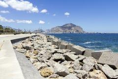 Costa costa de Palermo Imágenes de archivo libres de regalías
