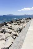 Costa costa de Palermo Imagen de archivo libre de regalías