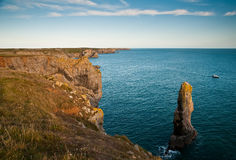 Costa de Pembrokeshire Fotos de Stock Royalty Free