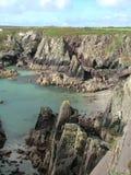 Costa de Pembrokeshire Fotografia de Stock