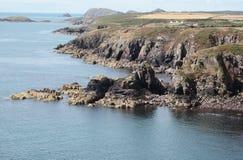 Costa de Pembrokeshire Foto de Stock
