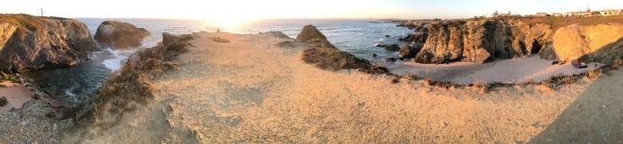 Costa de Portugal imagenes de archivo