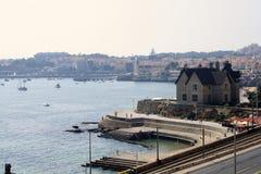 Costa de Portugal Fotografia de Stock