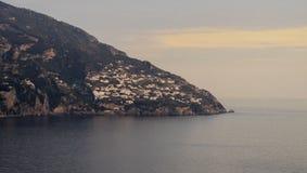 Costa de Positano Fotografía de archivo