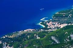 A costa de Promajna Imagem de Stock