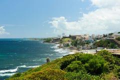 Costa de Puerto Rico Imagen de archivo libre de regalías